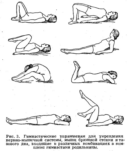 Гимнастические упражнения из